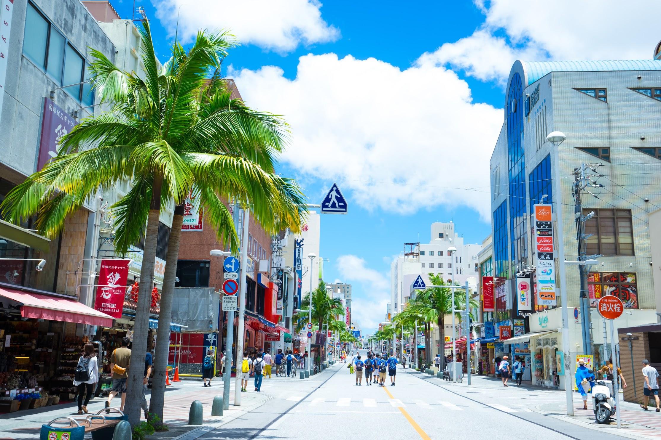 Okinawa Naha Kokusai street2
