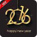 2016 New Year Live Wallpaper icon