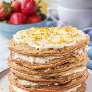 Lemon Cardamom Pancakes Recipe