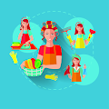 ألعاب مكياج وتنظيف - العاب مساعدة الكبار