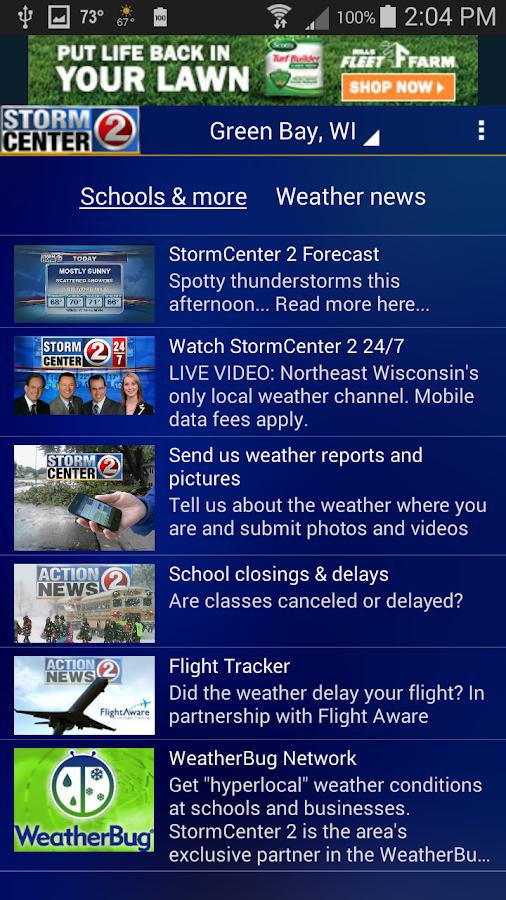 WBAY RADAR - StormCenter 2- screenshot