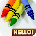 Hello Crayon icon