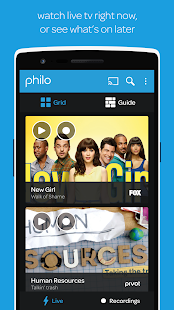 Philo- screenshot thumbnail