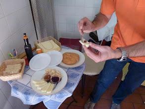 Photo: Good cheese with sweet jams