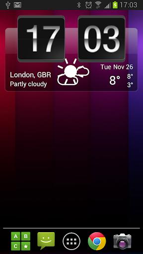 Sense Flip Clock & Weather Pro  screenshots 7