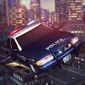 Sports Police Flying Car icon