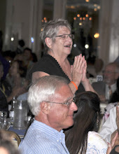 Photo: New York City member Georgia Weaver, who turned 75 the day before, is surprised to hear that someone has bought her a lifetime membership