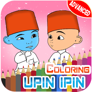 Download Coloring Pages For Upin And Ros His Friends APK Latest Version Game Android Devices