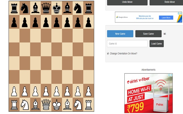 Awesome Chess Game