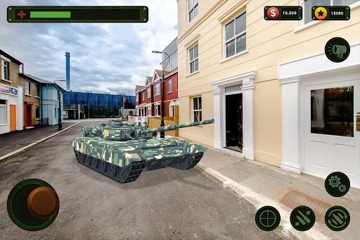 RC Tank Remote Control Sim AR. 0.1 screenshots 8