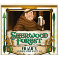 Logo of Sherwood Forest Brewers Ltd. Friar's Belgian Style White Ale