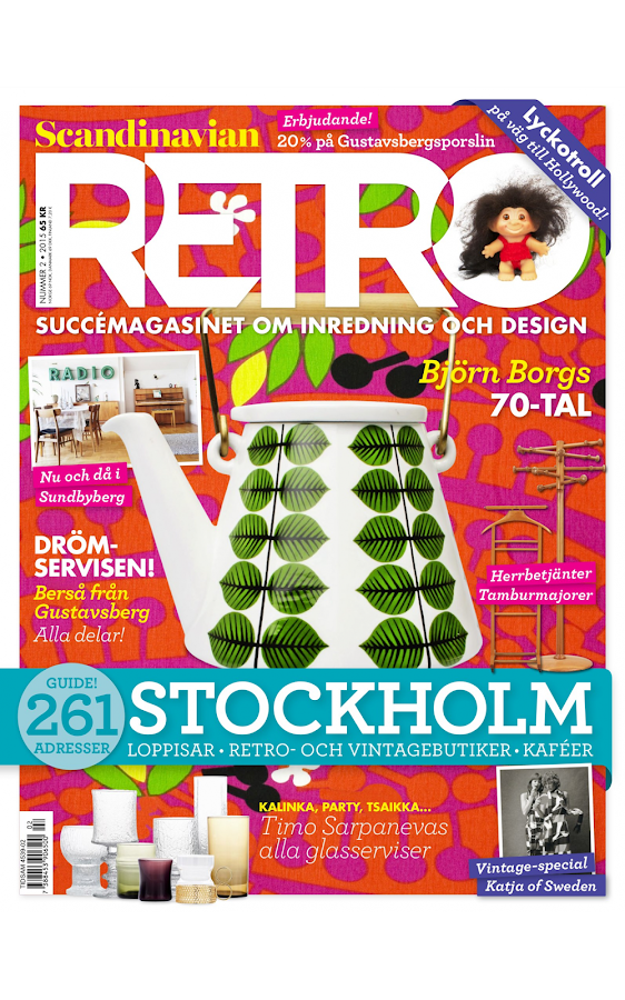 Scandinavian RETRO– skärmdump