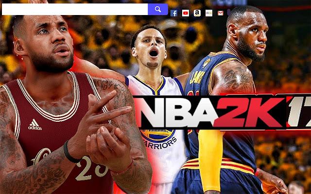 NBA 2K17 Game Wallpapers.