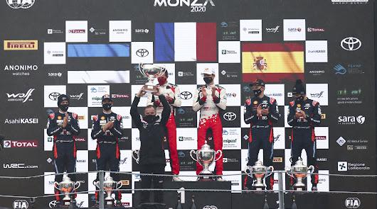 Ogier e Ingrassia logran su séptimo titulo con Toyota Gazoo Racing
