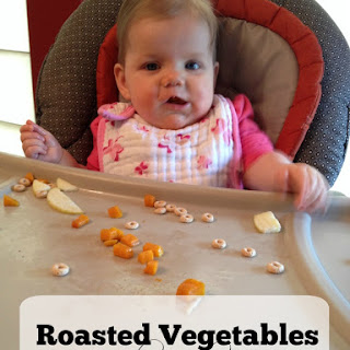 Roasted Vegetables for Baby Led Weaning Recipe