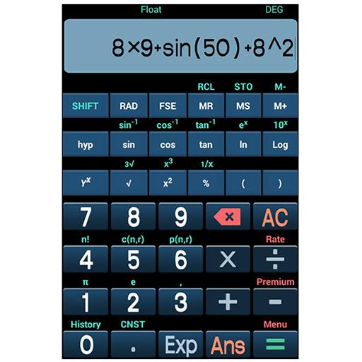 科学计算器 工具 App LOGO-硬是要APP