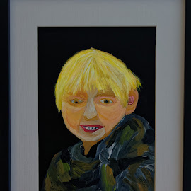 ethan by Paul Robin Andrews - Painting All Painting ( ethan, nephew )