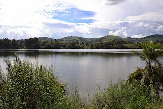 Photo: Lake on the road back to Kampala