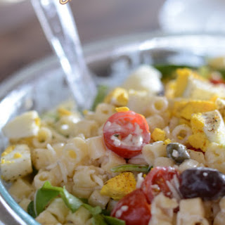 Creamy Pasta Salad Recipe With Mayo