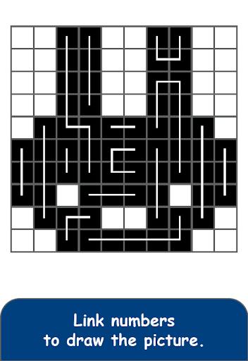FCross Link-A-Pix puzzles apktreat screenshots 2