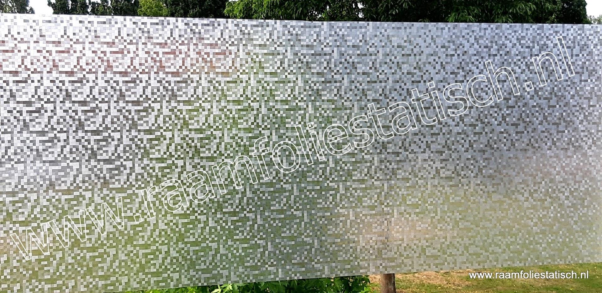 Raamfolie Blokjes 0,5cm