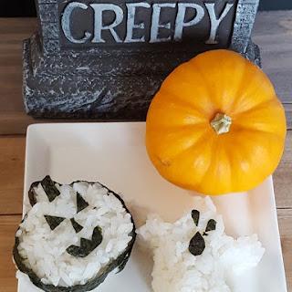 Spooky Halloween Onigiri.