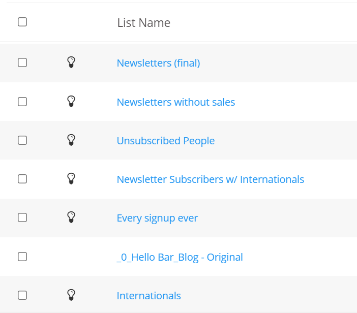 lead qualification lists used in marketing automation