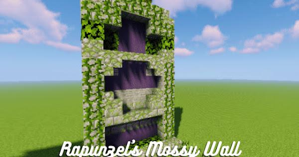 Rapunzel's Mossy Wall