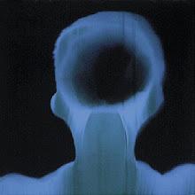 Photo: 04_Memoires photogramme 50x50cm sur papier bleu © Olivier Perrot 1996
