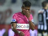 Leon Bailey nam tegen Charleroi op de bank plaats