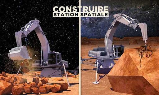 Code Triche Espace Ville Construction Simulateur Planète Mars mod apk screenshots 5