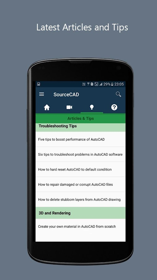 SourceCAD- screenshot