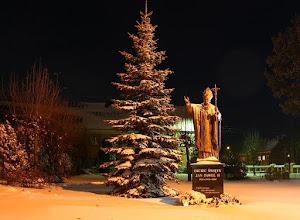 Photo: Pomnik JP2 w Stawiskach