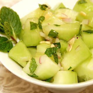 Cucumber, Honeydew, and Mint Salad