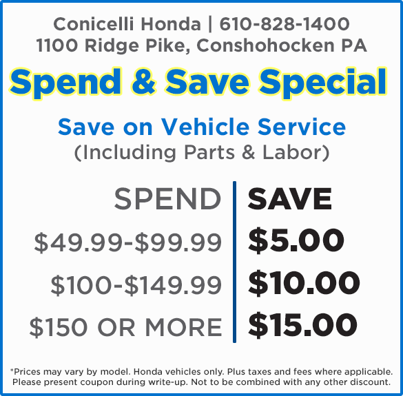 Save on Genuine Honda Service with these money-saving coupons!