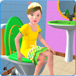 Kids Toilet Emergency Pro 3D Icon