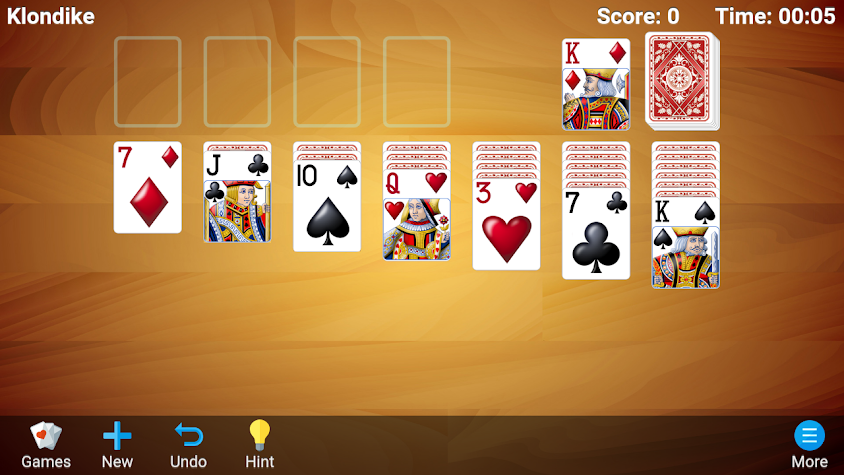 Solitaire Premium Screenshot