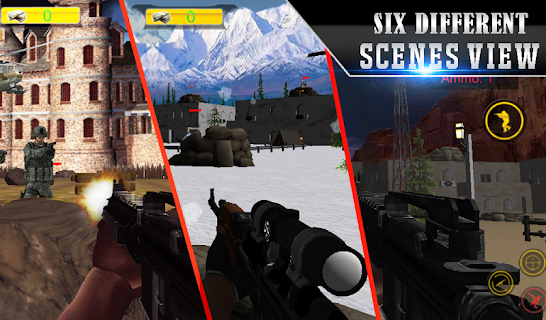 Lone Sniper Army Shooter 3D screenshot 04