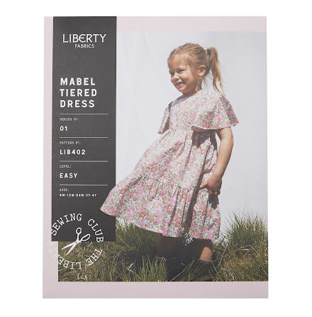 Mable Tiered Dress från Liberty