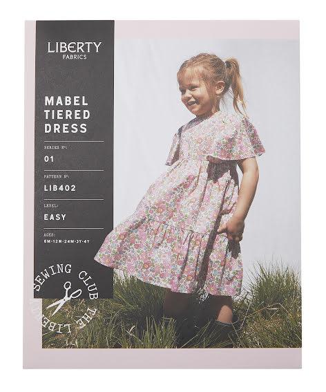 Mable Tiered Dress från Liberty