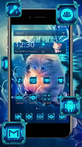 Kitty Spirit Dream Theme for PC