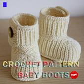Crochet Pattern Baby Boots
