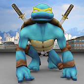 Turtle Superhero Monster Warrior