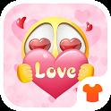 Pink Emoji 2018 - Love Wallpaper Theme icon