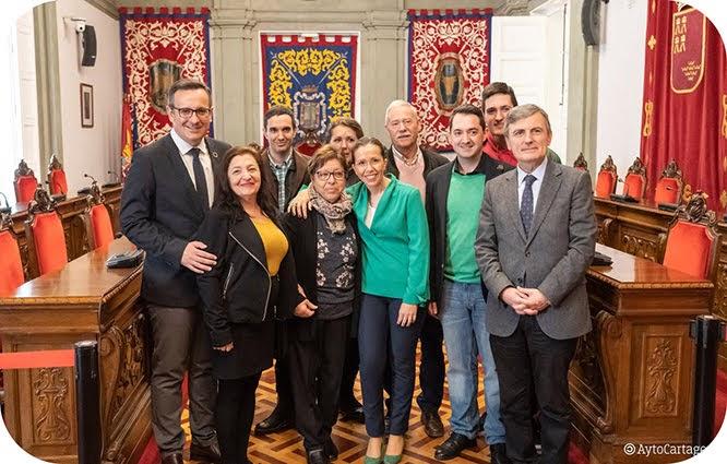 Fomento, Ayuntamiento y Obispado acuerdan restaurar la Catedral de Cartagena