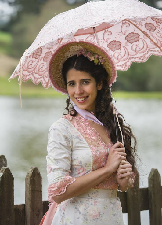 Atriz deu vida a Bianca, sua personagem na novela'Além do Tempo'