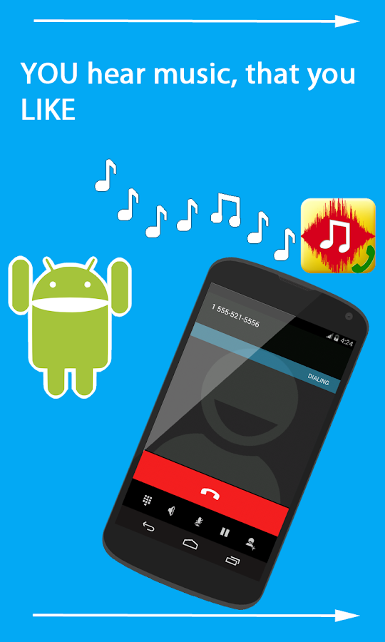 Ringtone Replace Ringback Free- screenshot