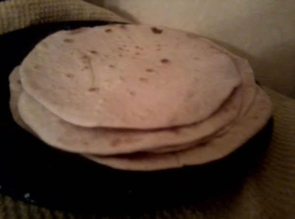 Homemade Honey-whole Wheat Tortillas Recipe