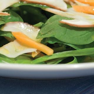 Fresh Porcini Salad.