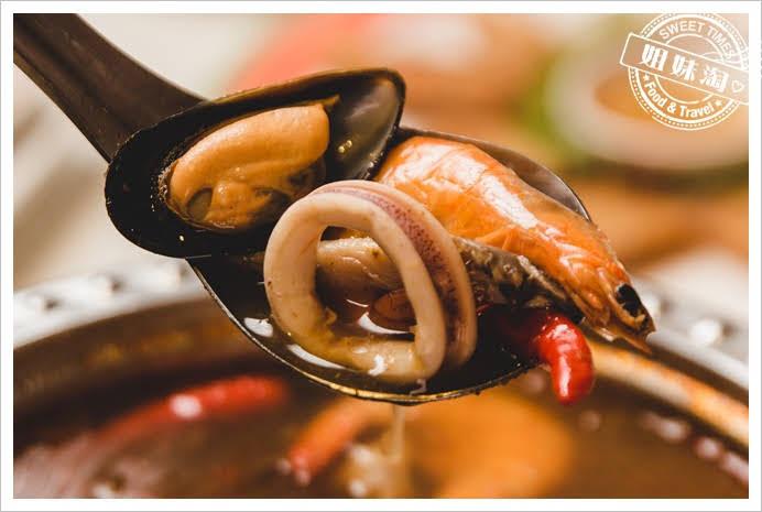 Papaya泰酸辣海鮮湯